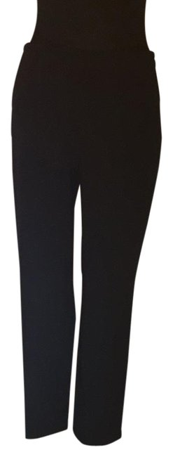 Preload https://img-static.tradesy.com/item/17921803/ralph-lauren-collection-black-straight-leg-pants-size-8-m-29-30-0-1-650-650.jpg
