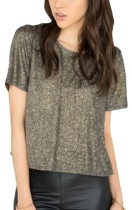 Francesca's Top Gray, Gold