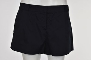 Theory Womens Solid Shorts Navy