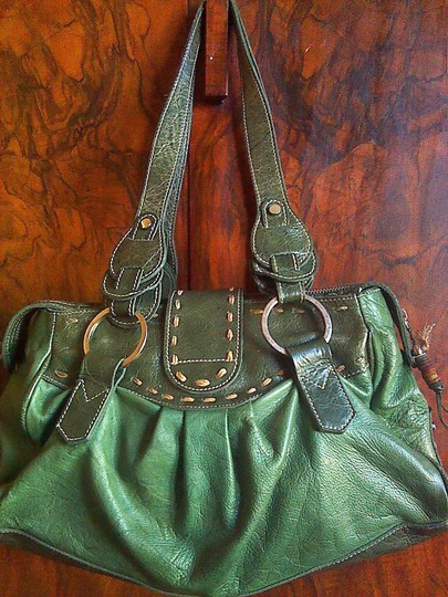 Other Leather Satchel in green