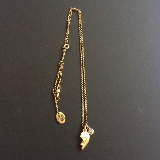 Juicy Couture Juicy Couture Half Heart Best Friend Necklace Image 2