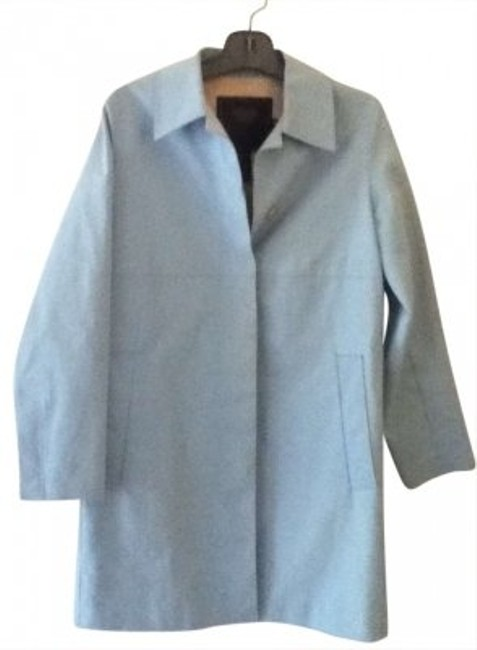 Preload https://item3.tradesy.com/images/coach-light-blue-trench-coat-size-8-m-179237-0-0.jpg?width=400&height=650