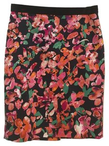 Ann Taylor Skirt Pink, Orange, Purple, Green, White, Black