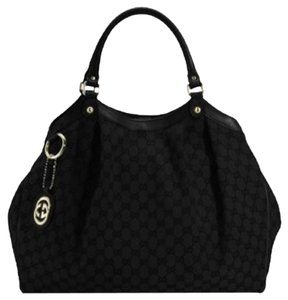 Gucci GG Black Sukey Bag Hobo Bag