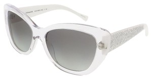 Coach Coach Crystal/White Cat Eye Sunglasses