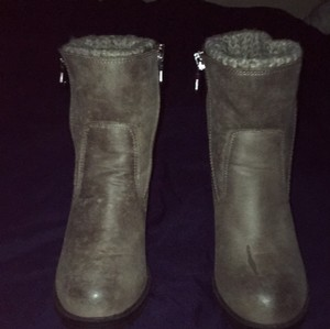 Mossimo Supply Co. Taupe Boots