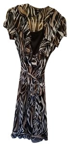 Black, White and Beige Maxi Dress by JBS Wrap Style