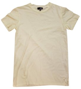 Aritzia T Shirt Soft Yellow