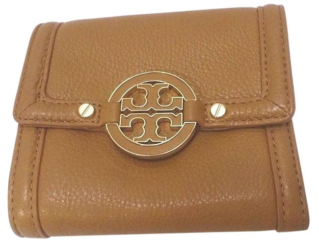 Item - Amanda Double Snap Logo Aged Vachetta Women's Wallet Tan Leather Baguette