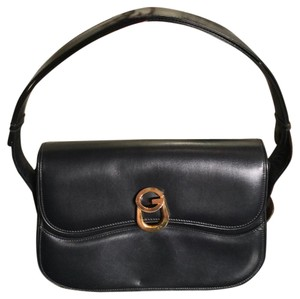 Gucci Satchel in Black & Gold