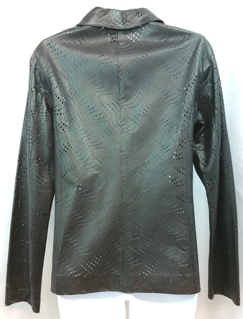 Etcetera BLACK Leather Jacket Image 1