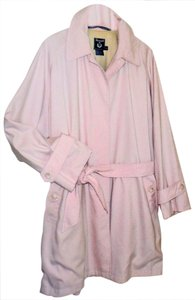 Façonnable Pastel Swing Belted Raincoat