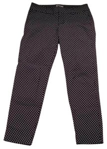Old Navy Skinny Pants Navy with white polka dots