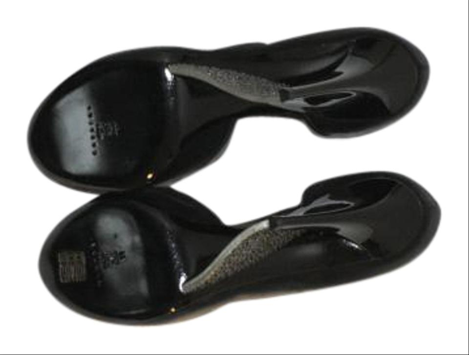 fd88aacba857 Casadei Black Sexy Wedges Size US 10 Regular (M
