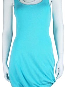 Lululemon short dress Aqua blue/White on Tradesy
