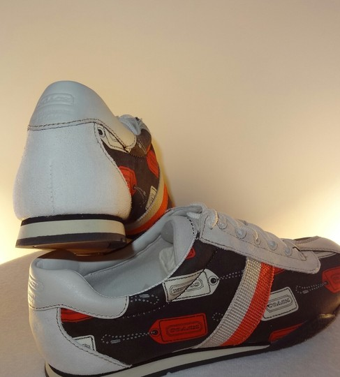 Coach Casual Running Logo Brown Base White Insoles Multicolor Athletic Image 2
