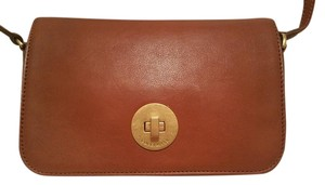 Coccinelle Leather Gold Hardware Cross Body Bag