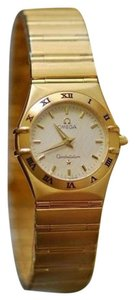 Omega OMEGA CONSTELLATION 18K YELLOW GOLD WATCH