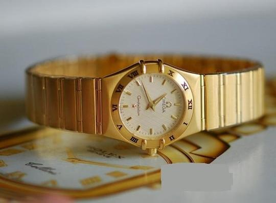 Omega OMEGA CONSTELLATION 18K YELLOW GOLD WATCH Image 2