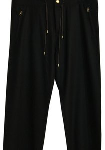 Louis Vuitton Wide Leg Pants Black
