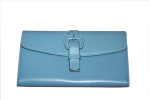 Cole Haan Cole Haan robin egg blue Leather Wallet, Gorgeous