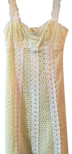 Nanette Lepore short dress White Yellow on Tradesy