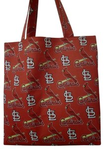 Other Handmade Baseball Cardinals St Louis Cardinals Tote in Red