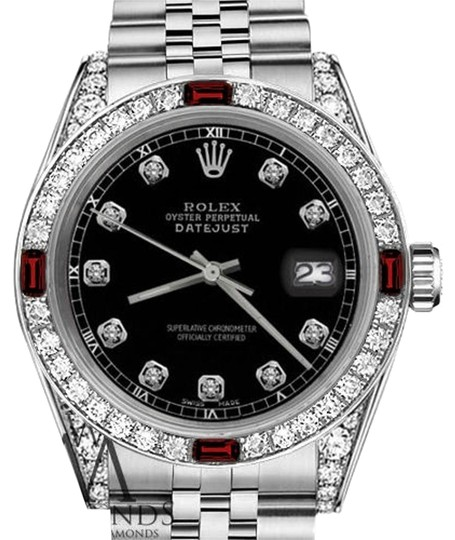 Preload https://img-static.tradesy.com/item/17931010/rolex-ladies-26mm-datejust-black-color-dial-with-ruby-and-diamondsaccent-watch-0-1-540-540.jpg