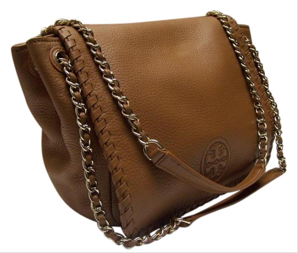 b51259d1ae Tory Burch Marion Small Leather Flap $450 Shoulder Bag on Sale, 40 ...