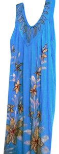Blue Maxi Dress by Shoe Shack