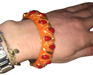 Unknown Beautiful Metal Orange And Red elastic Bracelet