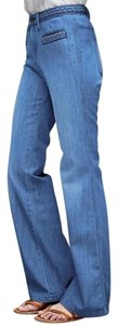 Gap 1969 Denim Cotton Flare Leg Jeans-Medium Wash