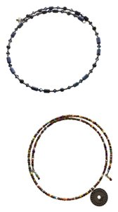 Silpada Two Silpada beaded wire chokers