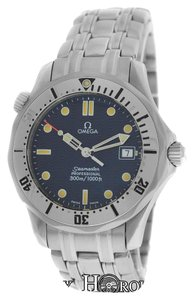 Omega Authentic Mens Midsize Omega Seamaster 2562.80 300M Diver's Quartz