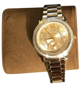 MICHAEL Michael Kors Gold Madelyn Pave Watch