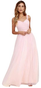 Lulu*s Style Gown Bridesmaid Dress