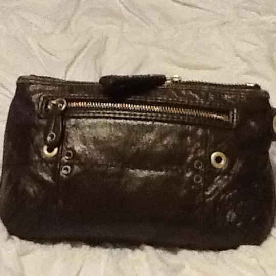 Juicy Couture Wristlet in Olive Green