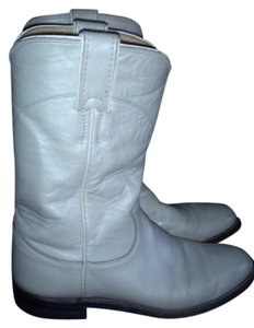 Justin White Boots