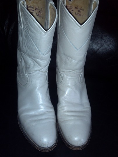 Justin White Boots Image 1