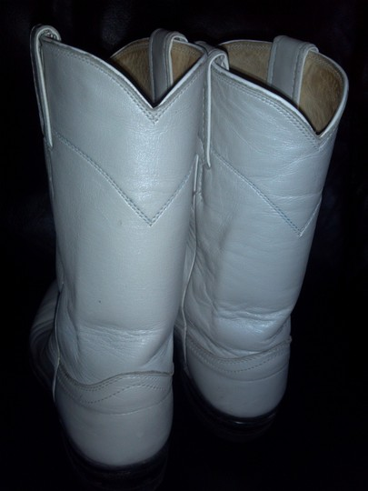 Justin White Boots Image 2