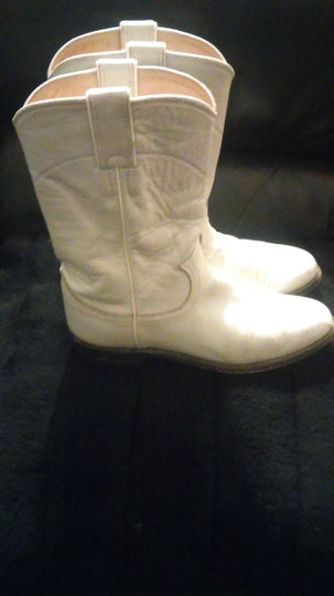 Justin White Boots Image 5