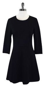 Trina Turk short dress Black Long Sleeve Fit & Flare on Tradesy