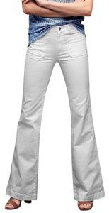 Gap Cotton Blend New Patch Pocket Flare Leg Jeans-Light Wash