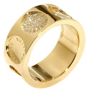 Louis Vuitton Louis Vuitton Empreinte Diamond Gold Ring