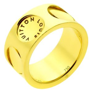 Louis Vuitton Louis Vuitton Empreinte Gold Ring