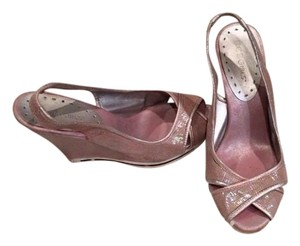 BCBGeneration Light pink Wedges