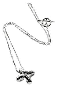 Hermès Hermes Diamond H White Gold Necklace