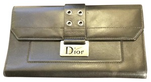 Dior Dior Black Wallet & Checkbook