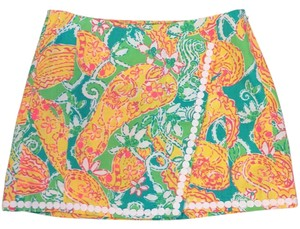 Lilly Pulitzer Skort Pop Goes The Lemur