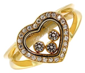 Chopard Chopard Happy Diamond Gold Diamond Ring